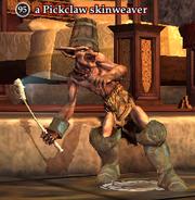 A Pickclaw skinweaver