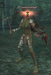 A possessed troll