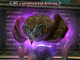 A spiritwracked drolvarg