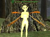 A very mischievous maiden