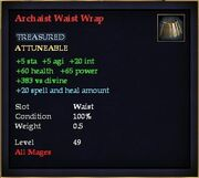Archaist Waist Wrap
