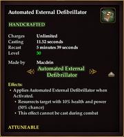 Automated External Defibrilator