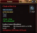 Cloak of the Cat