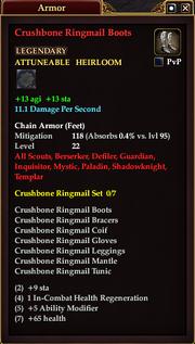 Crushbone Ringmail Boots