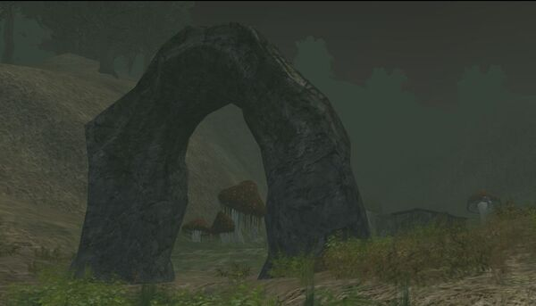 Entry Arch to Ghoul Camp