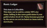 Runic Ledger