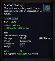 Staff of Destiny