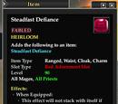Steadfast Defiance
