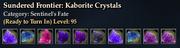Sundered Frontier- Kaborite Crystals