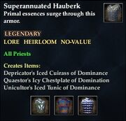 Superannuated Hauberk