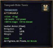 Tempest-Hide Tunic
