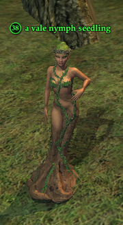 A vale nymph seedling