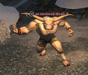 An enslaved thrall
