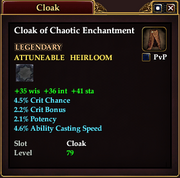 Cloak of Chaotic Enchantment