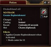 Drakeblood oil