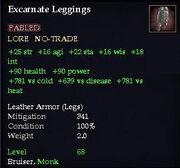 Excarnate Leggings