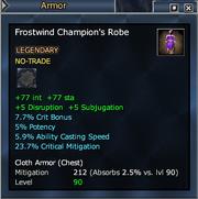 Frostwind Champion's Robe
