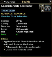 Gnomish Pirate Rebreather