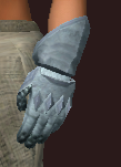 Sentry's Hammered Gauntlets (Equipped)