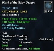 Wand of the Baby Dragon