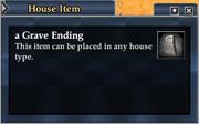 A Grave Ending