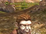 An overzealous grimling