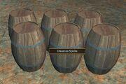 Barrels of Dwarven Spirits
