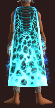 Cloak of the Silvered Boundary (Equipped)
