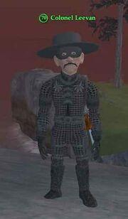Colonel Leevan