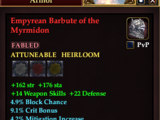 Empyrean Barbute of the Myrmidon