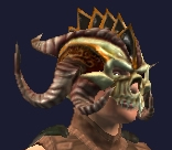 Hoo'Loh's Customized Necromantic Hat (Equipped)