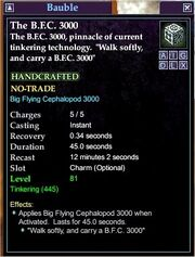 The B.F.C. 3000