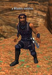A Blades soldier