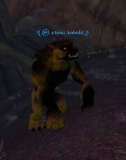 A toxic kobold