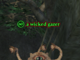 A wicked gazer
