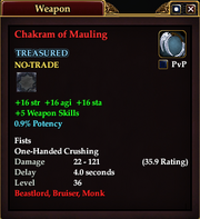 Chakram of Mauling