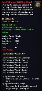 Jale Phlintoe's Wildfire Hood