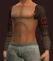 Russet Shoulderpads of the Far Seas Traders (Equipped)