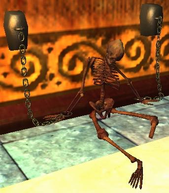 shackled human skeleton | everquest 2 wiki | fandom powered by wikia, Skeleton