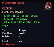 Wurmscale Band