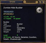 Zombie Hide Buckler