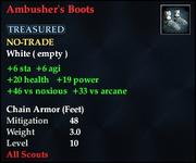 Ambusher's Boots