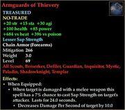 Armguards of Thievery