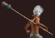 Bo Staff of Harmonious Perfection (Equipped)