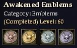 CQ emblems awakened Journal