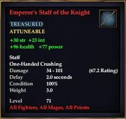Emperor's Staff of the Knight