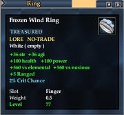 Frozen Wind Ring