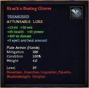 Kraz'k's Boxing Gloves