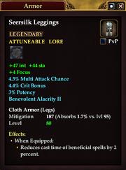Seersilk Leggings