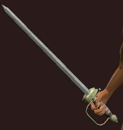 Windcaller's Sword (Equipped)